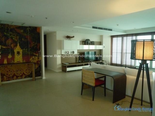 Bangkok Real Estate Saphan Taksin Condo For Rent and For Sale by Bangkok Condo Rentals Bangkok Real Estate Bangkok.